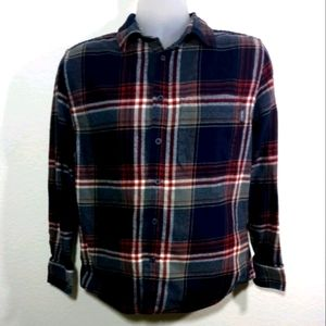 Eddie Bauer Flannel Long Sleeve Shirt